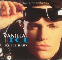 Ice Ice Baby Album Cover by The Best Of Vanilla Ice Wikipedia