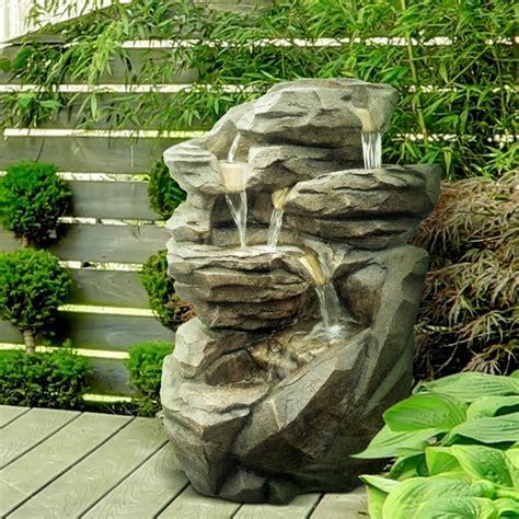 Fournisseur Grossiste Fontaine Jardin Xl Cascade Pierre