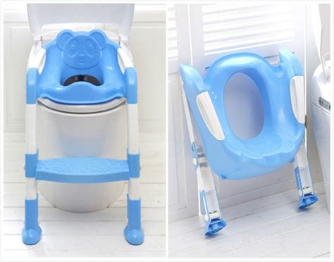 baby toilet seat folding potty seat chair with ladder vaso sanitario child chamber pot