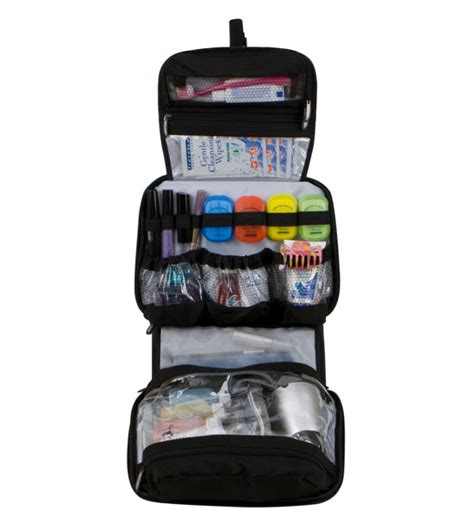Hanging Cosmetic and Toiletries Travel Organizer in Travel