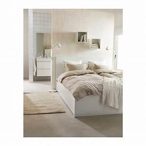 Ikea Möbel Weiß : stabiles gutes bett in ikea malm optik wei m bel m belhaus ~ Markanthonyermac.com Haus und Dekorationen