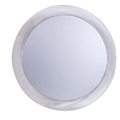 miroir grossissant x 2 rond 224 coller h 15 x l 15 x p 0 3 cm elsa leroy merlin