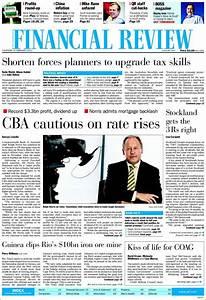 Newspaper The Australian Financial Review (Australia ...