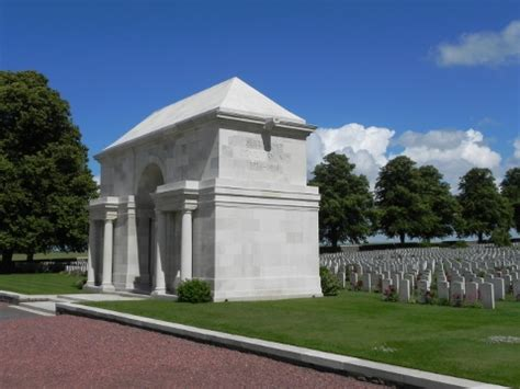 Serre Road Cemetery by Serre Road Cemetery No 2