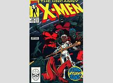 The Uncanny XMen #265 Storm Issue