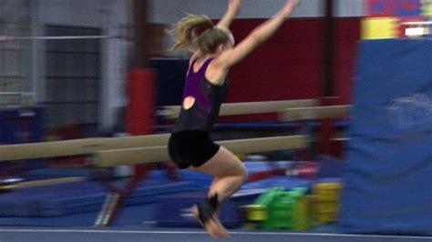 Gymnastics Floor Routine  Starting A Floor Routine