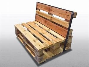 Bauanleitung Paletten Sofa : paletten sofa zweisitzer ~ Markanthonyermac.com Haus und Dekorationen