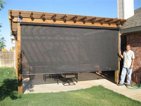 25 best ideas about outdoor blinds on patio blinds automatic blinds and porch shades