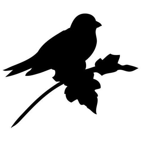 pochoir oiseau sur une branche gratuit 224 imprimer pochoirs boutons et animaux