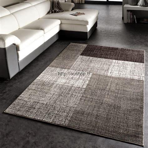tapis salon moderne gris pas cher tendance tapis deco 2017