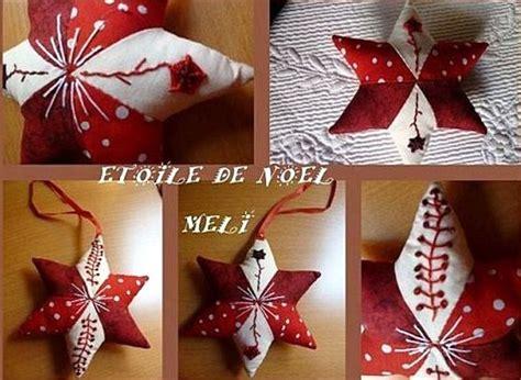 decoration de noel en tissu a faire soi meme