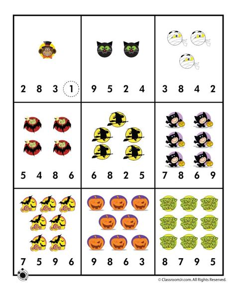 Counting Numbers Worksheets For Kindergarten  Worksheets On Counting Mreichert Kids