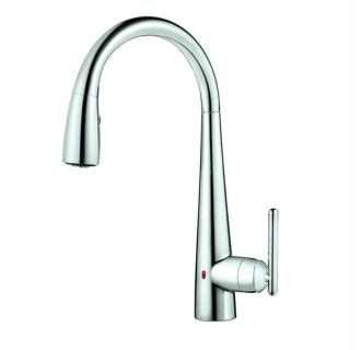 Pfister Kitchen Faucet Touchless by Pfister Gt529 Elc Polished Chrome Lita React Touchless