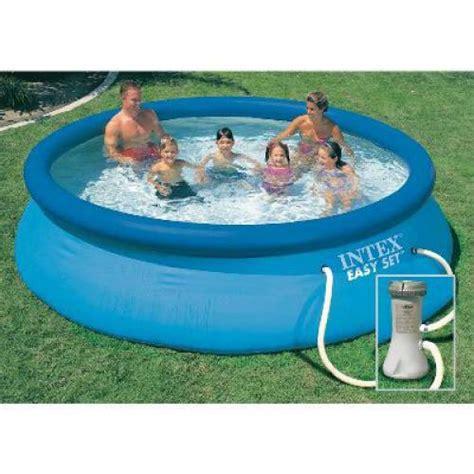 piscine kit easy set 366 x 76 cm 28132fr achat vente piscine sur maginea