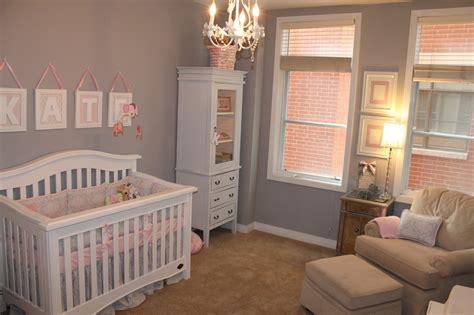 Kate's Pink & Gray Elephant Nursery  Project Nursery
