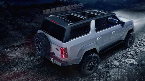 2020 Ford Bronco Sharply Rendered As Fourdoor, Removable Roof