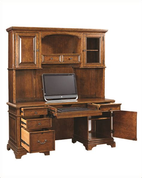 aspenhome credenza desk and hutch hawthorne asi26 316 319