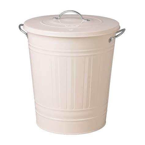 knodd poubelle blanc 40 l ikea