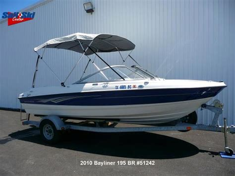 Bowrider Boats For Sale Texas by Bayliner 195 Bowrider Boats For Sale In Texas