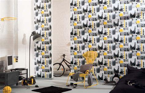 papier peint chambre ado new york id 233 es de d 233 coration et de mobilier pour la conception de la
