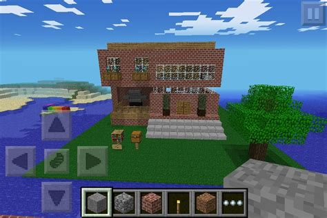 minecraft pe house diy