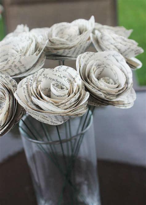 recyclage et d 233 coration vive les vieilles pages de livres mariage