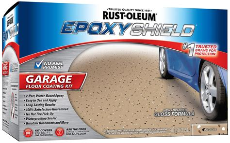 rust oleum paint garage floor coating epoxy gloss
