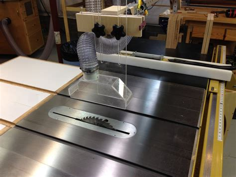 Table Saw Overhead Dust Collection  By Paulfromvictor