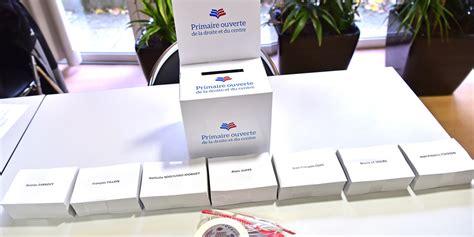 primaire de la droite les bureaux de vote sont ouverts et le resteront jusqu 224 19 heures