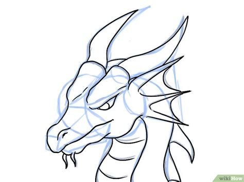 How To Draw A Dragon Boat by Comment Dessiner Une T 234 Te De Dragon 21 233 Tapes