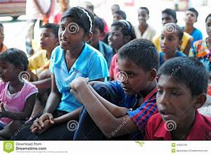 Orphans editorial stock image. Image of charity, orphanage ...