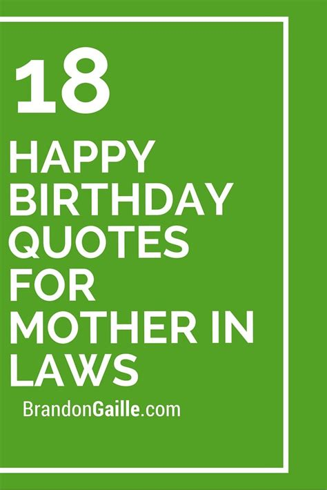 18 Happy Birthday Quotes For Mother In Laws  Mothers, In. Work Thanksgiving Quotes. Marriage Quotes Laughter. Inspirational Quotes Kahlil Gibran. Birthday Quotes For Him. Day Special Quotes. Uncommon Depression Quotes. Instagram Quotes For Bio. Instagram Quotes Design