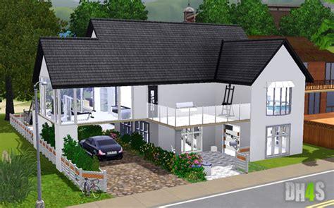 sims 4 maison moderne ventana
