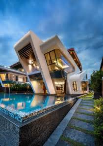 awesome modern architectural exterior home design mercurio design lab create a modern villa in singapore
