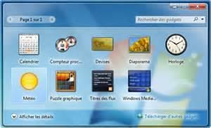 comment installer la m 233 t 233 o sur bureau windows 7