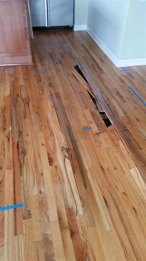 water damaged laminate flooring