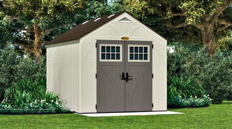 suncast sheds 574 cubic ft tremont 8x10 plastic shed kit w floor bms8100 ebay