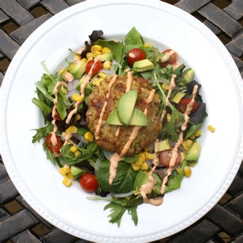 crab cake salad it s all about salads