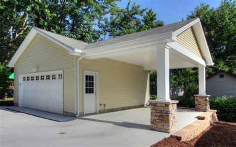 adding onto existing garage adding a carport to garage contemporary garage and