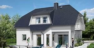 Moderne Häuser Walmdach : modernes haus mit erker und balkon ytong bausatzhaus ~ Markanthonyermac.com Haus und Dekorationen
