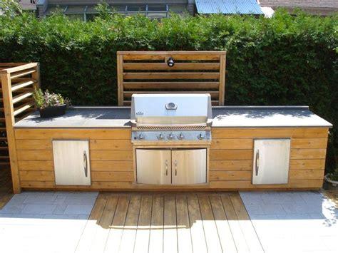 cuisine ext 233 rieure en bois projet cuisine ext 233 rieure cuisine
