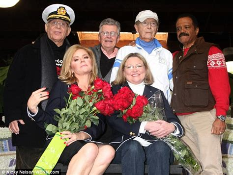 Julie From Love Boat Today by The Love Boat Cast Reunites To Decorate Cruise Ship Float