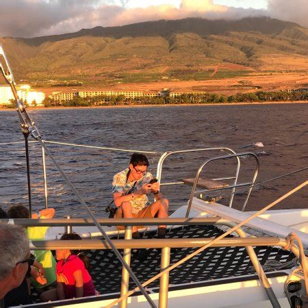 Boat Cruise Maui by Maui Sunset Cruise In The Gemini Sailboat Aug2017