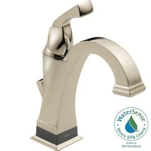 delta dryden single single handle bathroom faucet