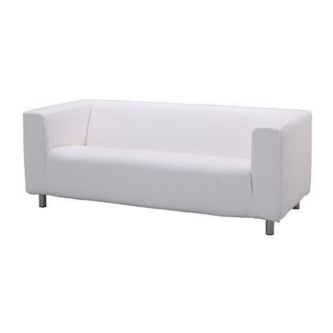 klippan two seat sofa alme white ikea