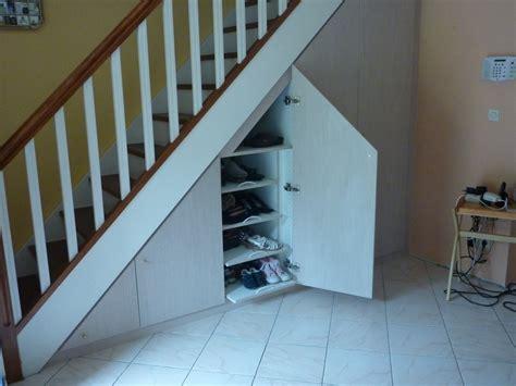 am 233 nagement de placards sous escaliers les cr 233 ations de pascal
