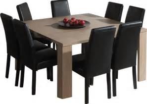 table carr 233 e salle 224 manger moderne coloris ch 234 ne ardennes deco interieure