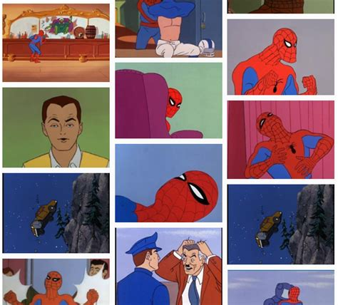 60 s spider your meme