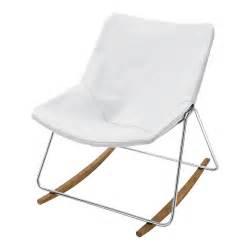 fauteuil 224 bascule en cuir blanc g1 maisons du monde