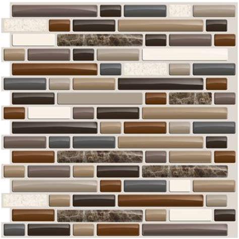 smart tiles bellagio mosaik peel n stick backsplash cing